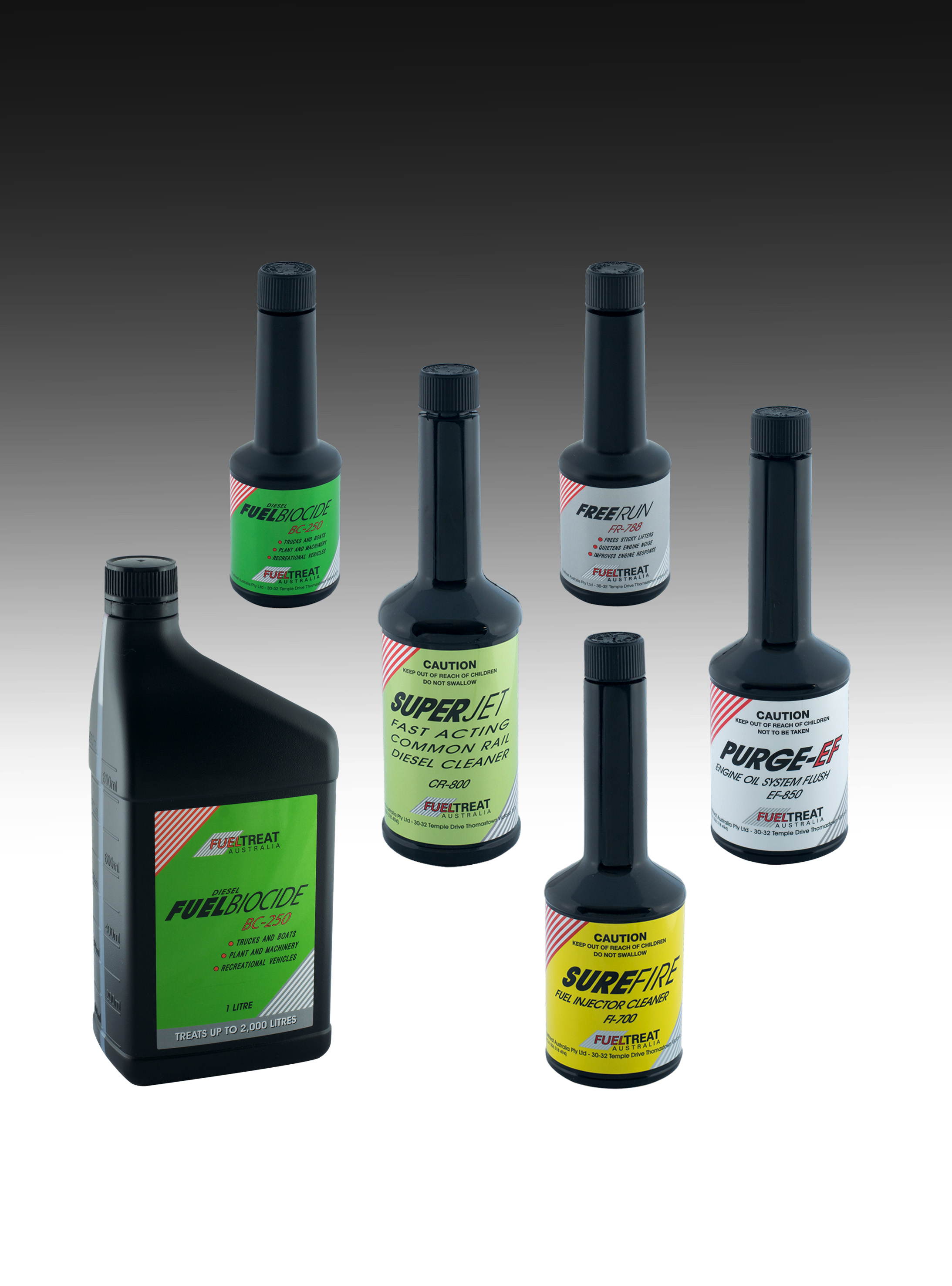 Fuel & Oily Waste Treatment Products