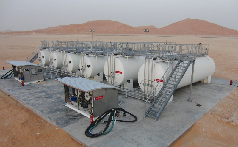 Bulk Storage Tanks Supply, Install and Maintain