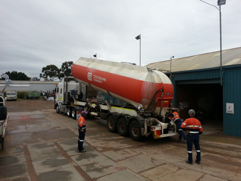 Dry Powder Tanker Repairs
