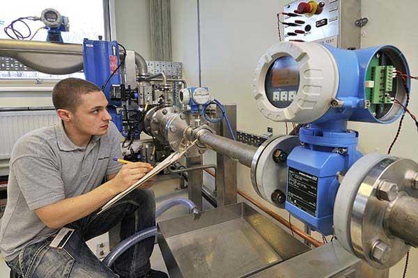 Industrial Flow Meter Calibration
