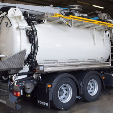 Sweeper and Drain Cleaner Truck Installs