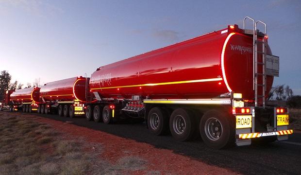 Large road Tanker Fleet Setup